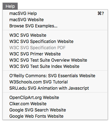Documentation and Resources – macSVG