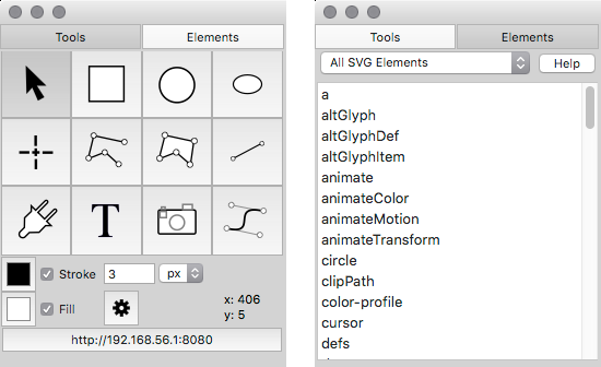 SVG Tools and Elements – macSVG