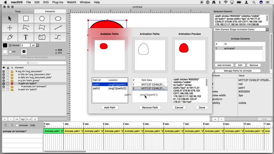 Simple Path Animation Tutorial – macSVG